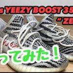 """アディダス イージーブースト 350 V2 """" ゼブラ """" を洗ってみた! adidas YEEZY BOOST 350 V2 """" ZEBRA """""""