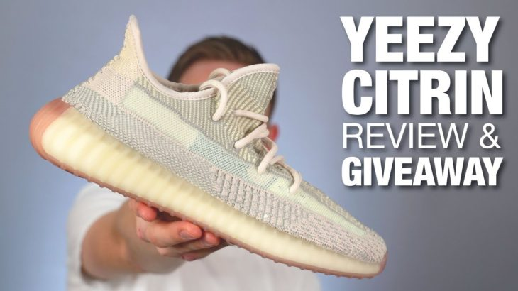 Adidas YEEZY 350 V2 CITRIN Review & GIVEAWAY