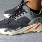 """Adidas Yeezy Boost 700 """"Magnet"""" On-foot"""