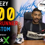 First adidas Yeezy 700 Wave Runner Custom on YouTube by Vick Almighty