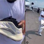 Kanye West blessed  DJ Khaled with the YEEZY 700 V3