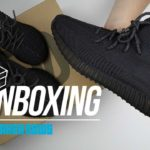 Yeezy 350 Black Unboxing + Review