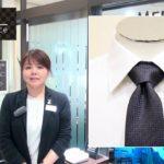 【博多阪急】ネクタイの結び方~ビジネススタイルにおすすめのセミウィンザーノット~