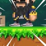 I made Yeezy Boost in Pixel Worlds…