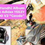 "Kanye's Yandhi Album Hidden in adidas YEEZY Boost 700 V2 ""Geode"" // Flash Drive in Shoe Cut in Half"