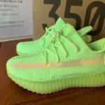 Kids Adidas Yeezy Boost 350 V2 GID Glow In Dark