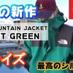 今年の新作!ノースフェイスのマウンテンジャケットナイトグリーンのLサイズの購入レビュー 1990 MOUNTAIN JACKET GTX/マウンテンジャケット【THE NORTH FACE】USモデル