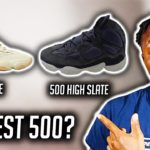 NEW AND IMPROVED! YEEZY 500 HIGH SLATE AND YEEZY 500 STONE BREAKDOWN