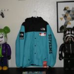 THE NORTH FACE x SUPREME EXPEDITION COACHES JACKET (TEAL)