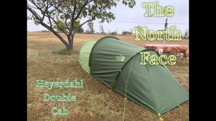 Testing The North Face Heyerdrahl Double Cab tent in heavy rain, first look coming soon