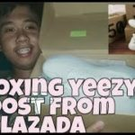 Unboxing yeezy boost from LAZADA👣
