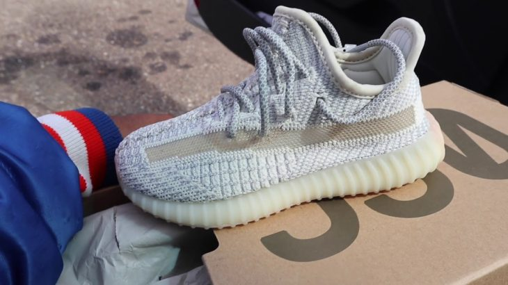 Yeezy LUNDMARK EXCLUSIVE 🔥 In Hand Review Full Details unboxing (KIDS)