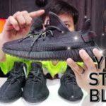Yeezy Static BLACK แท้ 20,000 VS ปลอม 6,500