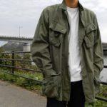 ミリタリー 60's ヴィンテージ ジャングルファティーグジャケットを紹介して着てみる。Vintage Jungle Fatigue Jacket  Military