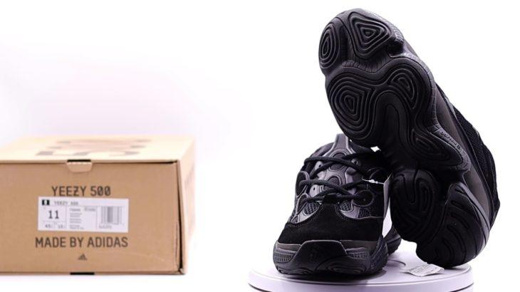 Adidas Yeezy 500 – Jet Black (360° Review)