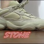 ON FEET + YEEZY 500 STONE REVIEW