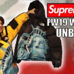 SUPREME x THE NORTH FACE STATUE UNBOXING- Fall Winter 2019 Week 10