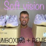 YEEZY 500 SOFT VISION UNBOXING|REVIEW