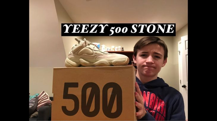 Yeezy 500 Stone Unboxing and Review! (COP OR DROP)