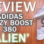 adidas Yeezy Boost 380 Alien Review, Sizing, Unboxing, and On Feet