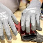 kinco Milwaukee North Face Summer / Winter / cut resistant work gloves.