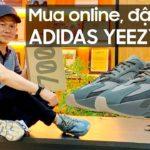 Đập hộp giày Adidas Yeezy Boost 700 Teal Blue mua online tại Mỹ