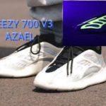 ADIDAS YEEZY 700 V3 AZAEL +GLOW THE THE DARK