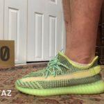 Adidas Yeezy 350 Boost V2 Yeezreel On Foot