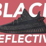 BEST YEEZY REFLECTIVE? YEEZY 350 V2 BLACK REFLECTIVE REVIEW