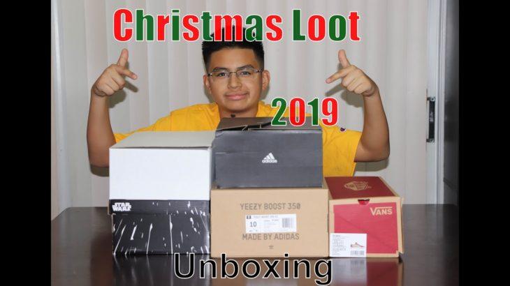 Christmas Loot 2019 – 5 pair of shoes, Yeezy, NMD, Ultraboost, Vans