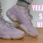 """Frist Look """"Adidas Yeezy 500 Soft Vision""""Unboxing and On Foot"""
