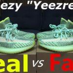 "REAL VS FAKE Yeezy 350 V2 ""Yeezreel"""