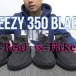 Real VS Fake Yeezy 350 black
