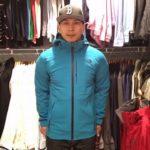 The North Face Apex Flex GTX vs. Dryzzle Rain Jacket Layering Fit comparison