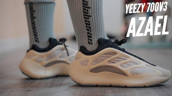 """Đập Hộp + Đánh giá + On Feet  Adidas YEEZY 700v3 """"AZAEL"""" – Hung Dinh"""