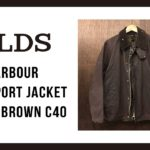 Barbour Transport Jacket Rustic Brown C40|バブアー トランスポート ジャケット|OLDS