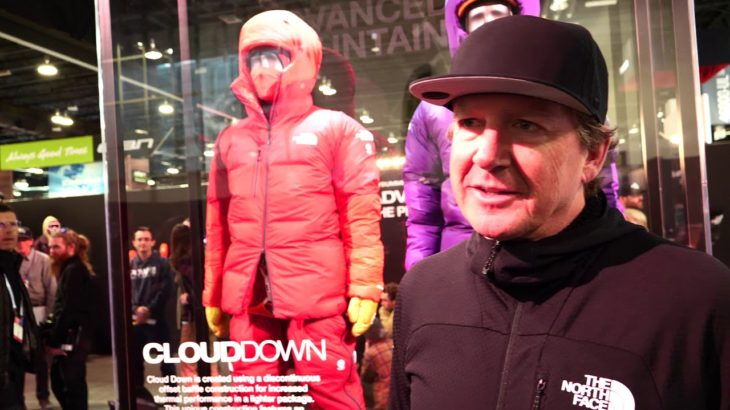 North Face at Outdoor Retailer Snow Show 2020 with Engearment.com