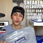 Sneaker Hustle | EP 3: Yeezy 350 Black Kaws Lacing, Supreme Bandana BOGO Hoodie, Jordan XI Bred