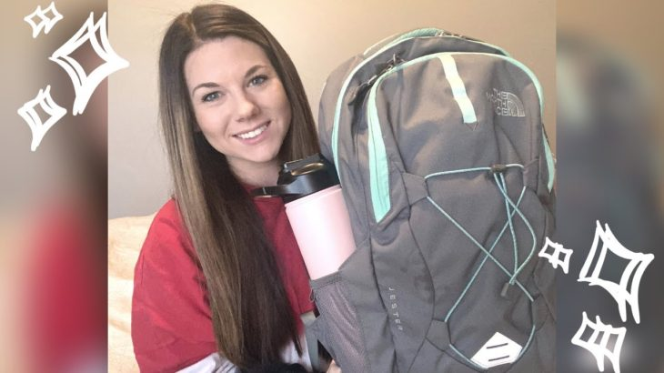 WHATS IN MY BACKPACK! NORTH FACE JESTER   NURSING SCHOOL   Destiny Phillips