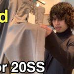 【最速】kolor 20SS 2nd!傑作テーパードパンツとジャケット!