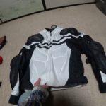 冬のライダーズジャケット