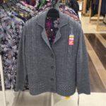 気軽に羽織れる、ニットジャケット お買得、冬のおしゃれ婦人服 グレース 足利