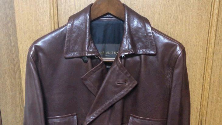 【我が愛しのレザーウェア】レザージャケット、ブルゾン、コート vol.14 『Louis Vuitton』