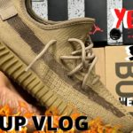 """DOPE??? OR JUST ANOTHER 350!?!? YEEZY 350 """"EARTH"""" PICK UP VLOG!!"""