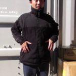 【ECWCS GEN2  フリースジャケット】MEDIUMを着てみた。SMALLとの比較も。