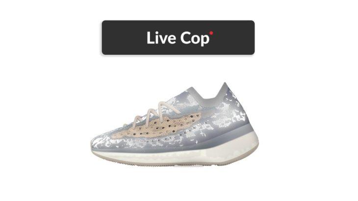 LIVE COP 🚨|  Yeezy Boost 380 'Mist' Reflective
