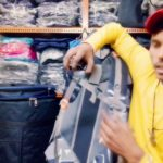 Tourist bag. Travels for the north face (by kishan rajput.)