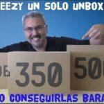 YEEZY se volvió LOCO 3 Paquetes – UNBOXING