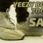 yeezy boost 700 salt on feet ||| 1 year after they release 2/23/2019