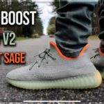 Adidas Yeezy Boost 350 V2 Desert Sage On Foot & Review
